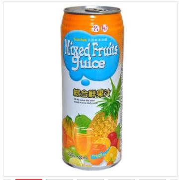 名屋进口鲜果汁饮料500ml\/罐(台湾地区综合)绘制曲线生存的要求图片