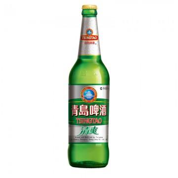 青岛清爽啤酒600ml/瓶