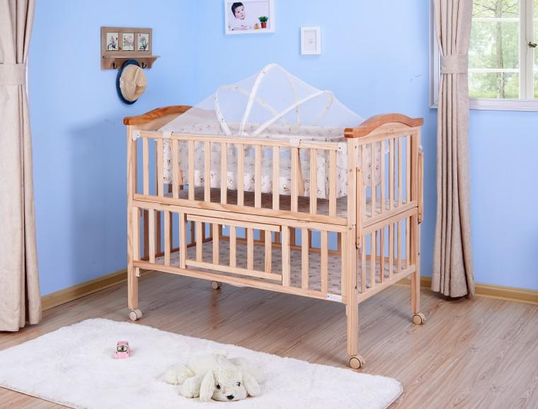 安装木床固定配件