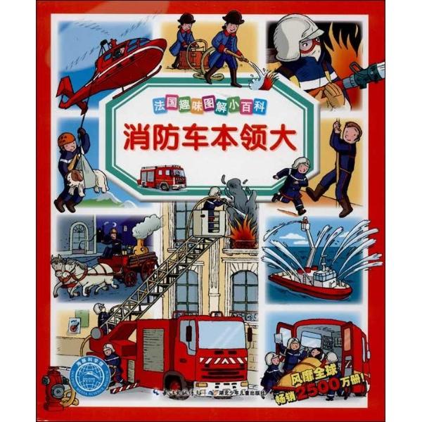 春季消防手绘海报