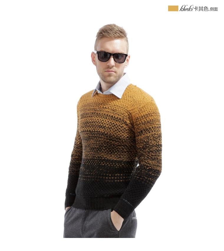 手工编花针织:英伦味十足的多重花纹编织撞色,潮感十足,突破了秋冬的
