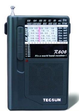 德生(tecsun) r808 收音机 迷你收音机 老人全波段收音机 立体声(商品