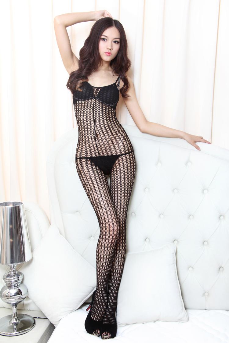 selebritee 美国女式无限诱惑网织连身袜 109(黑) 黑色 均码