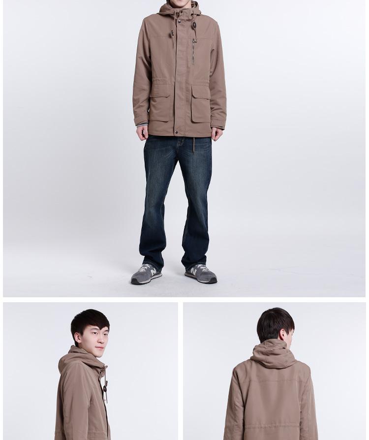 服装部位英文名称图解 男夹克