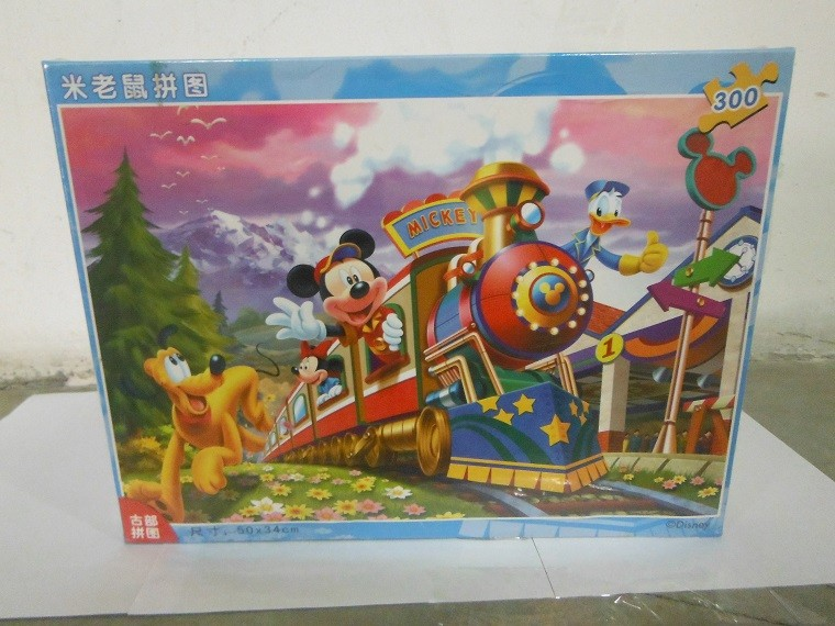 米老鼠拼图 开火车11df3001456