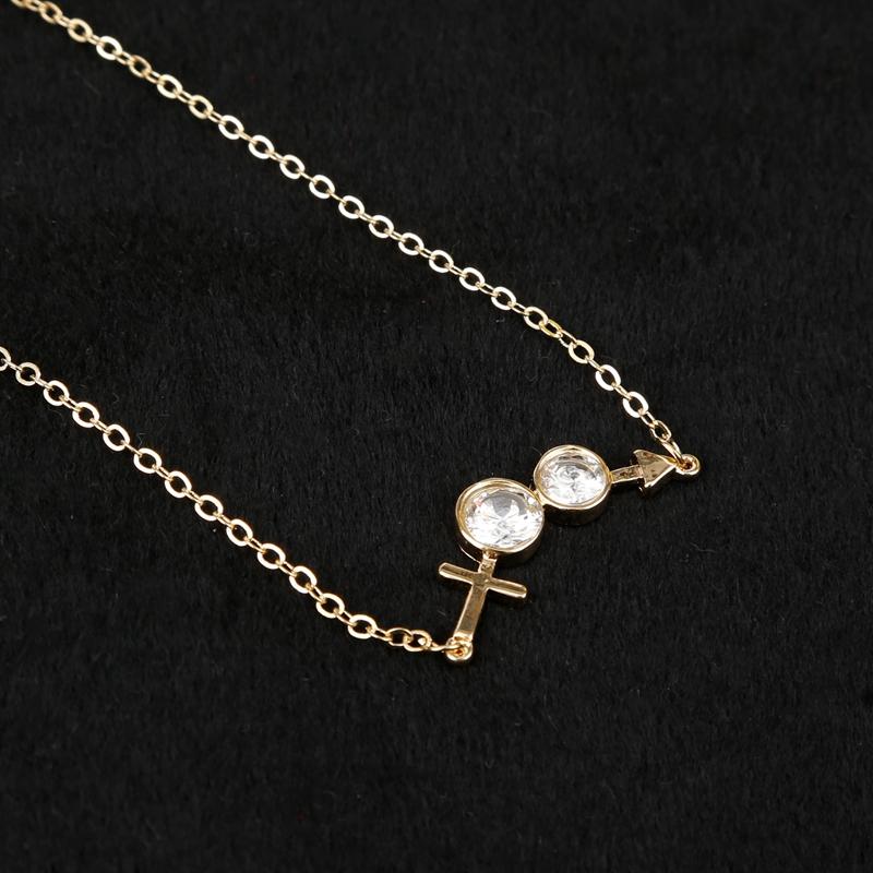 锆石/水钻 风格:休闲百搭 时尚优雅 经典复古 日韩风格 甜美可爱 项链