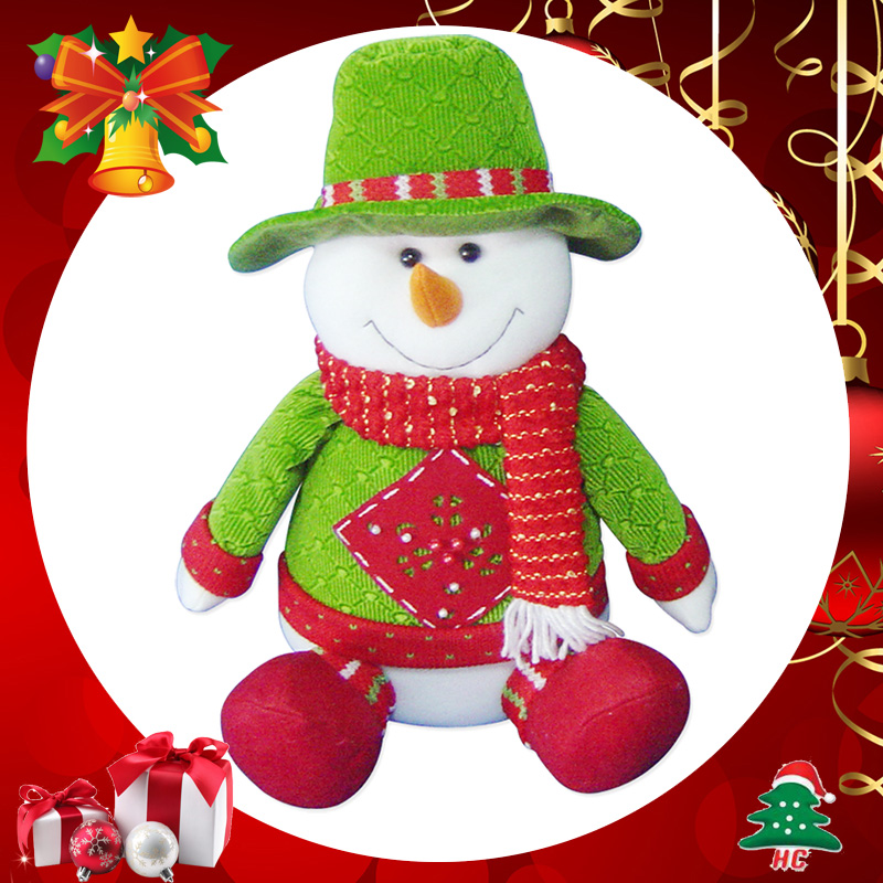 商品名称:焕成 圣诞人物坐姿玩偶桌饰1入 x-5353 品牌:焕成 圣诞饰品
