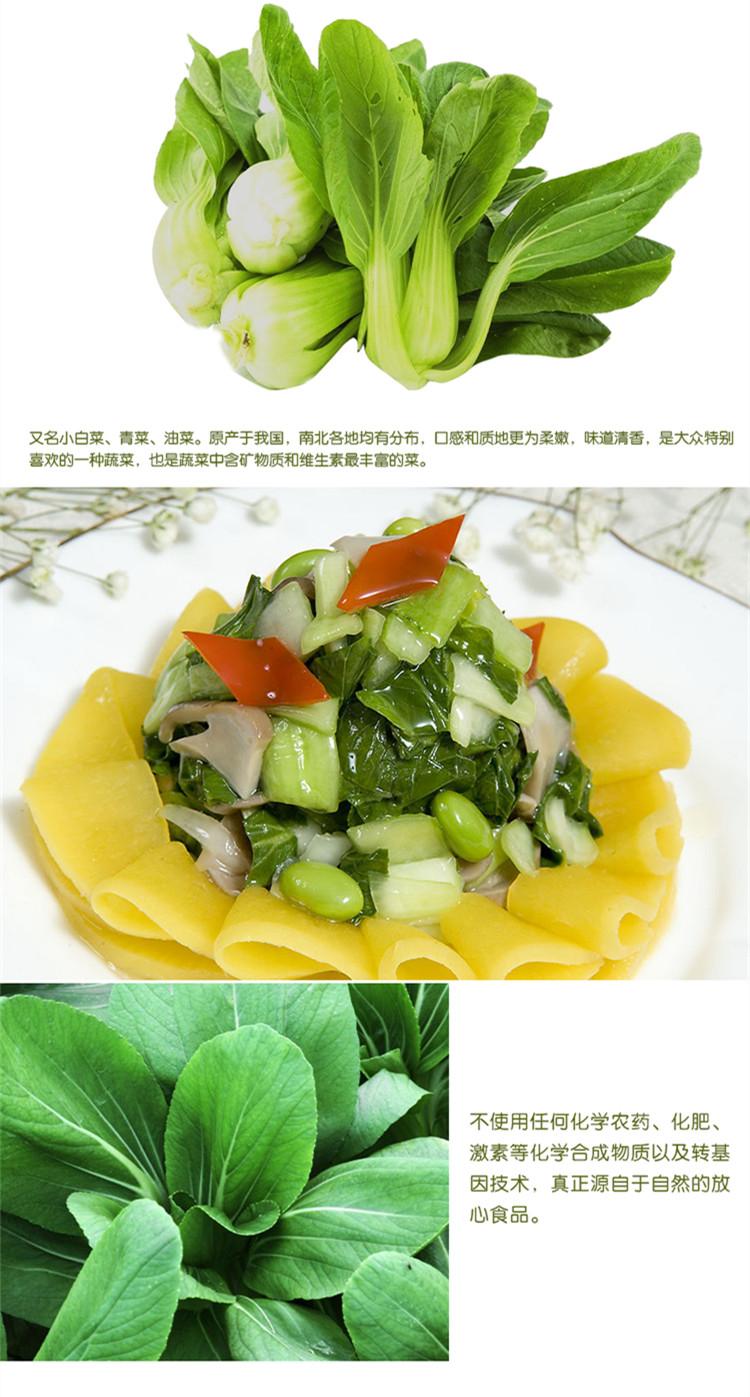 食全食美有机小青菜300g/盒新品