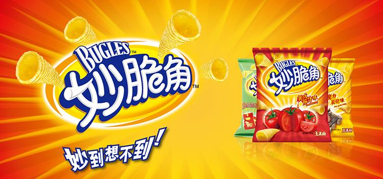 妙脆角 阳光玉米原味 65g/包