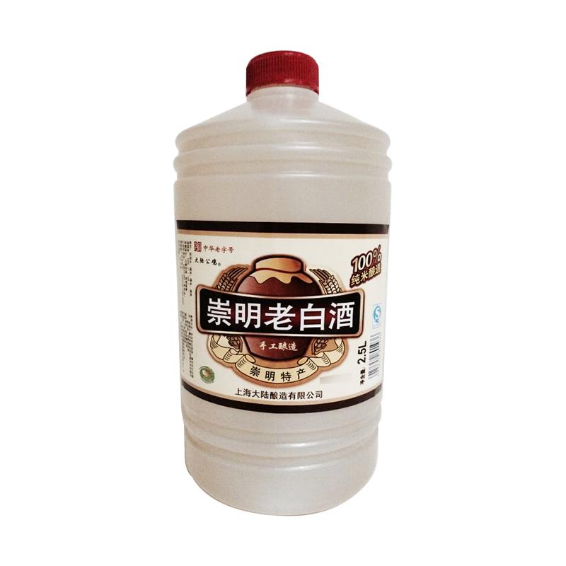 公鸡10度崇明老白酒 2.5l/桶
