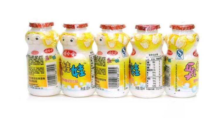 娃哈哈乳娃娃酸奶饮料 220g*4瓶/组