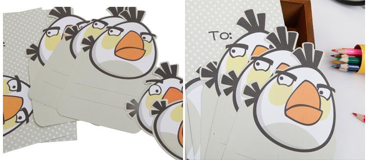广博愤怒的小鸟信纸套装