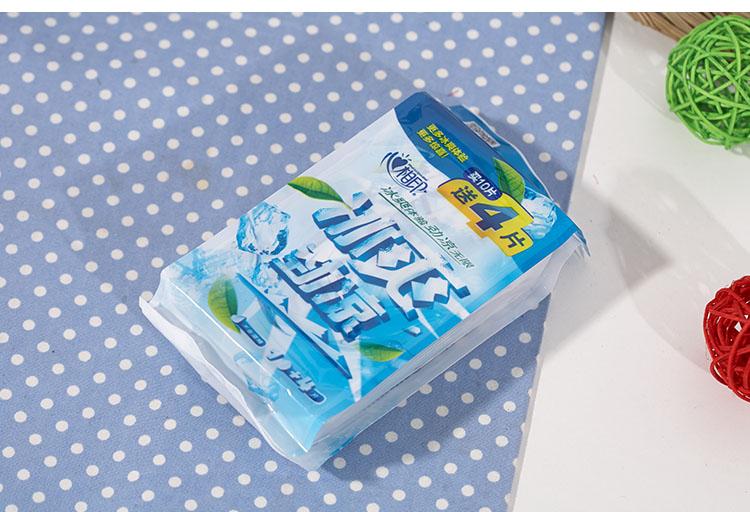 心相印湿巾冰爽茶香独立装10片 包图片