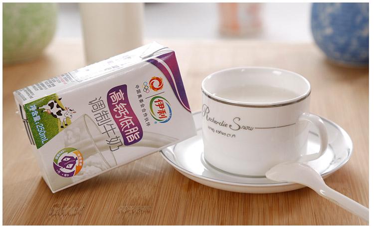 伊利利乐包高钙低脂奶250ml 16盒 箱