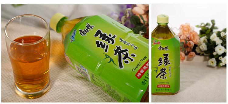 商品名称:康师傅蜂蜜绿茶饮料1l/瓶 品牌:康师傅 类型:绿茶 包装