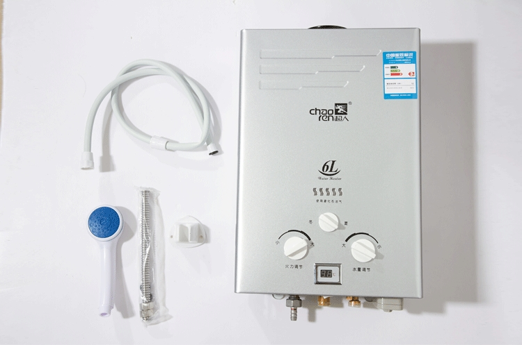 超人jsd12-6a9j 6升 燃气热水器(液化气)