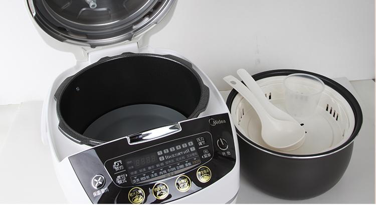 厨房小家电 电压力锅 美的(midea)电压力锅