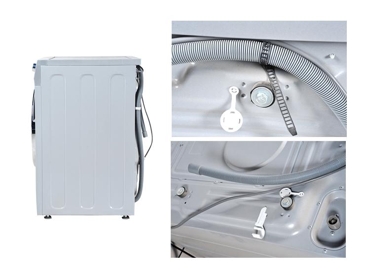 海尔洗衣机安装说明 图片合集