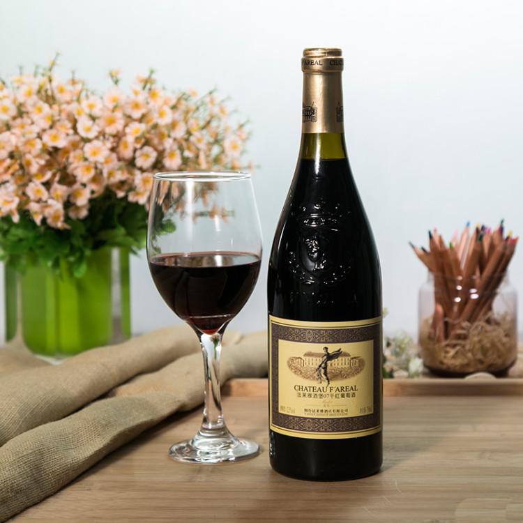 法莱雅酒堡07美乐干红葡萄酒750ml/瓶