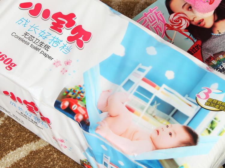 品牌:小宝贝 类别:无芯卷筒纸 纸品层数:3层 产地:中国大陆
