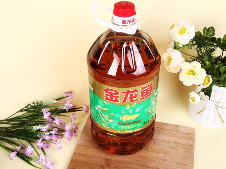 金龙鱼非转基因纯香大豆油5l/桶