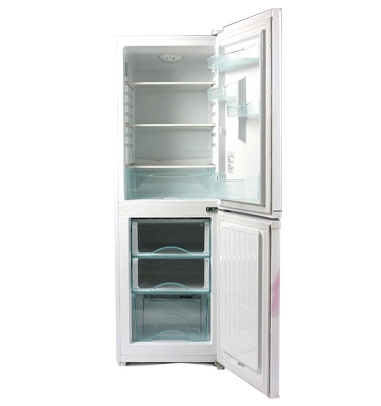 海尔(haier) bcd-196tcsj 196升 双门 冰箱 (白色) 白