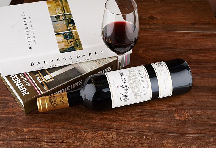 法国莫泊桑干红 750ml 瓶