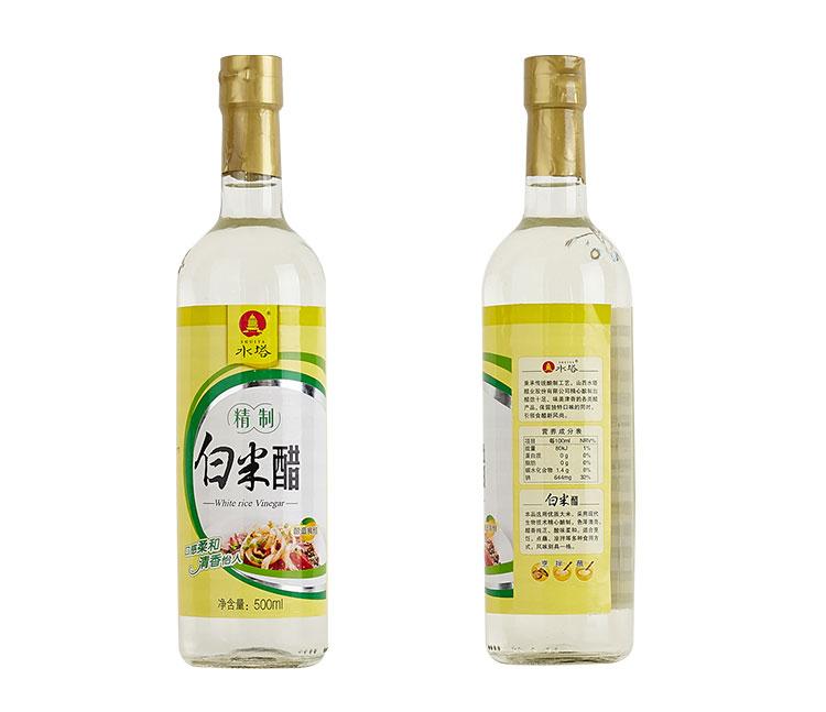 水塔白米醋500ml/瓶