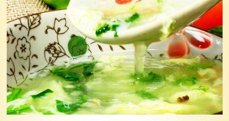 蘑菇蛋花汤 8g/杯