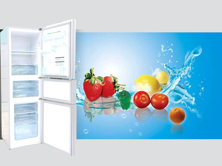 tcl冰箱海報素材