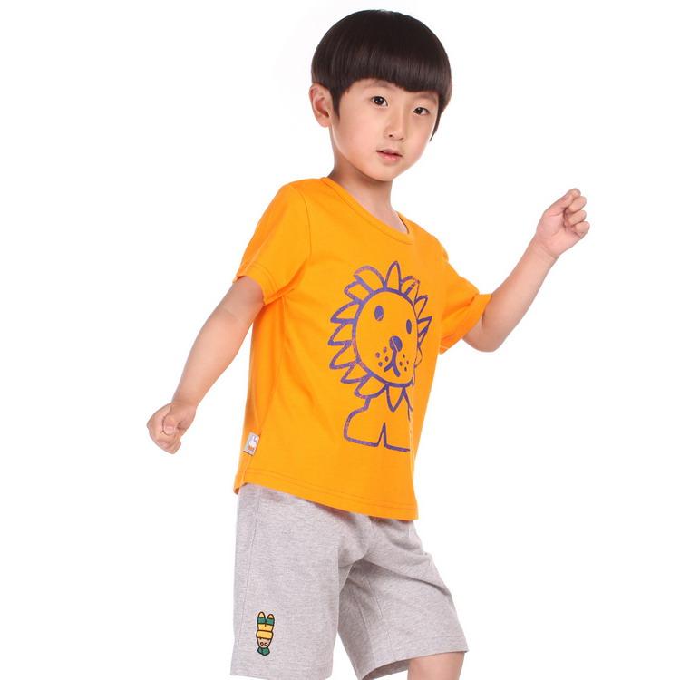 miffy米菲 童装 男童全棉可爱卡通休闲t恤衫 mg24a051