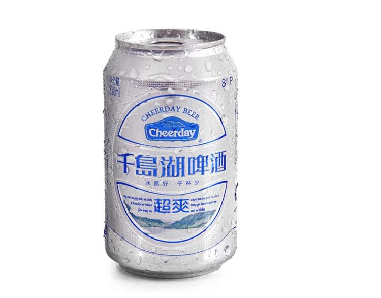 千岛湖 超爽啤酒 330ml*24罐/箱
