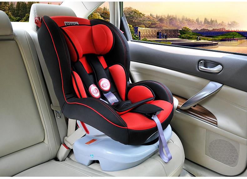 路途乐儿童汽车安全座椅 车载宝宝婴儿座椅 0-6岁 哈哈象s款升级版