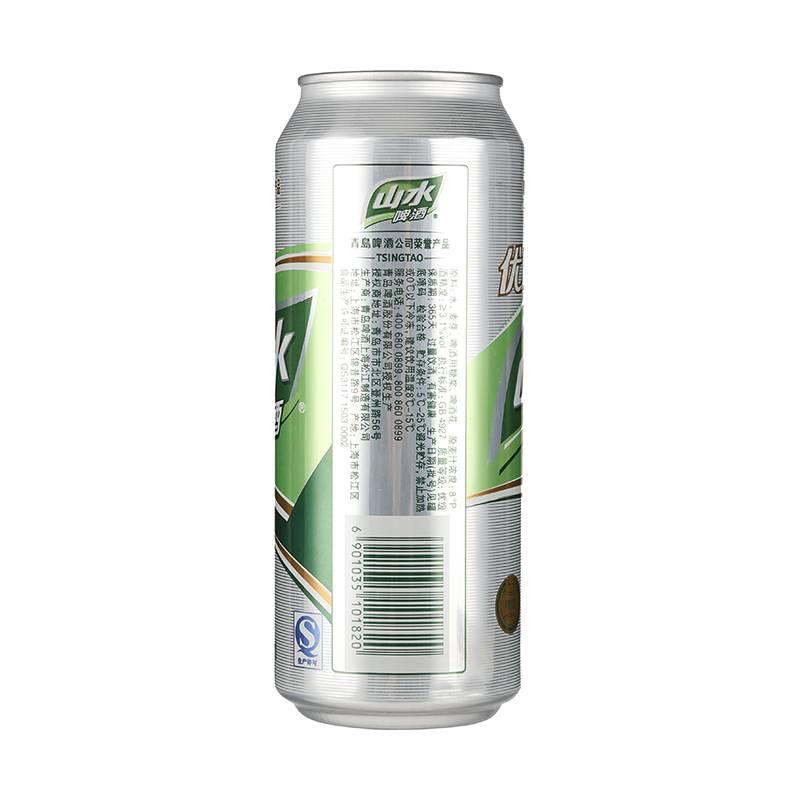 青岛8度山水啤酒 500ml/瓶