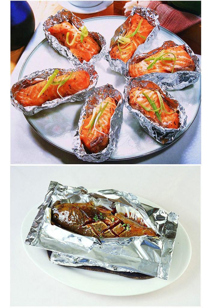 供应铝箔烧烤托盘 铝箔火鸡盘 锡纸餐盒 铝箔鱼盘