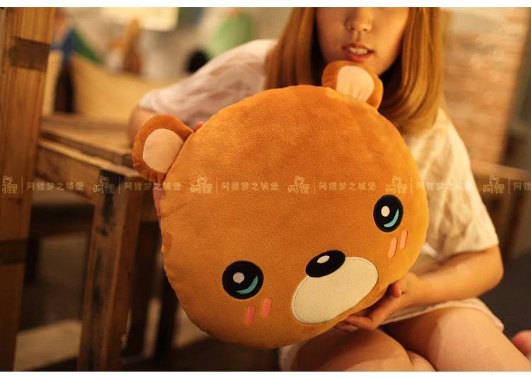 阿狸表情暖手抱枕-大熊图片图片