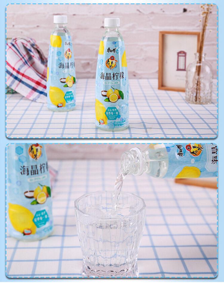 康师傅海晶柠檬 500ml/瓶 x6
