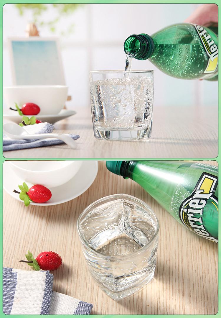 法国进口 Perrier巴黎水 含气柠檬味饮料 含气青柠味饮料 含气天然矿泉图片