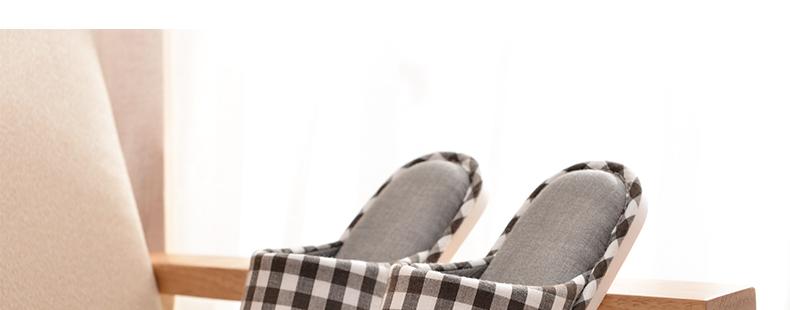 朴西 夏天家用软底托鞋 木地板居家棉拖鞋女夏季韩国室内家居拖鞋 pc