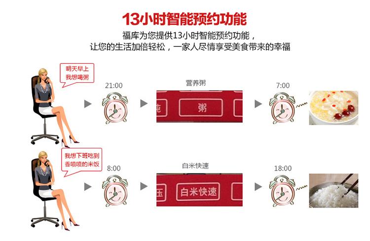 福库(cuckoo) 韩国智能电饭煲电饭锅 ih电磁加热技术