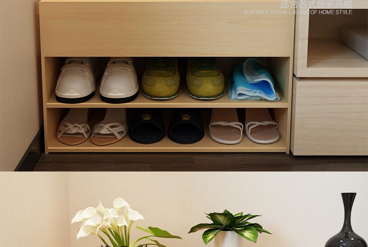 木质鞋架 换鞋凳子