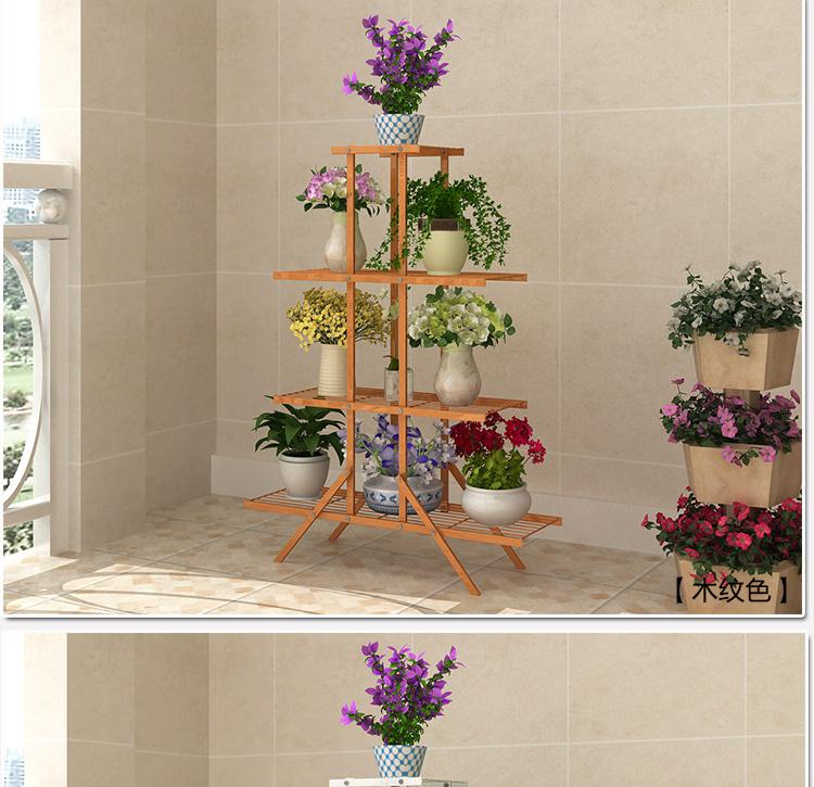 欧式花架铁艺多层绿萝花架吊兰阳台栏杆花架客厅