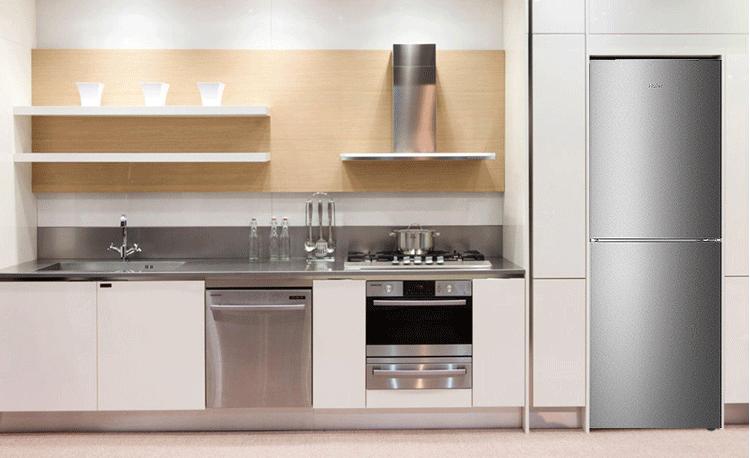 双门冰箱厨房效果图