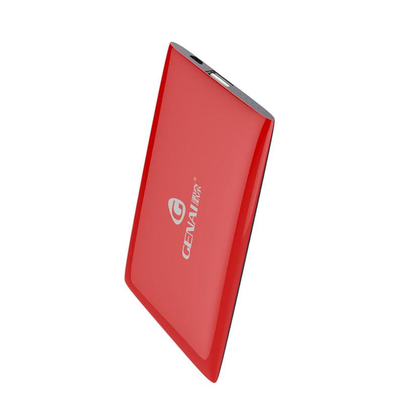 歌奈 移动电源j10 充电宝聚合物10000毫安手机电池 大