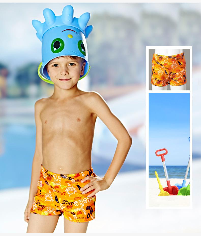 洲克zoke洲克新款泳裤创意英文图案男温泉游泳