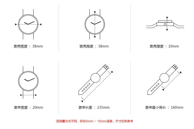 圆形手表简笔画圆形
