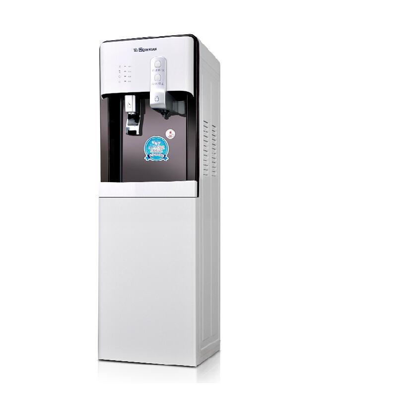 沁园 立式无热胆速热电子制冷型饮水机ylr0.7-20(yld9582w)