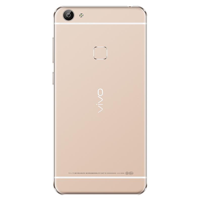 vivo x6a 全网通高配版4g手机 4gb+64gb 双卡双待 金色 品牌:步步高