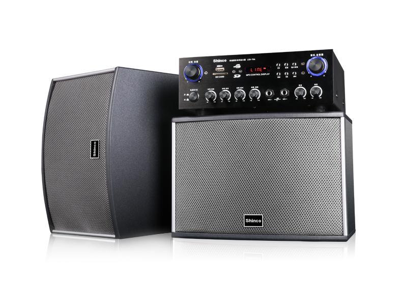 led-706 家用ktv音响套装 品牌:新科(shinco) 家影类别:音箱 功放